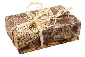 "Gift box ""Old Map"""