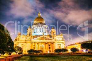 Saint Isaac's Cathedral (Isaakievskiy Sobor) in Saint Petersburg