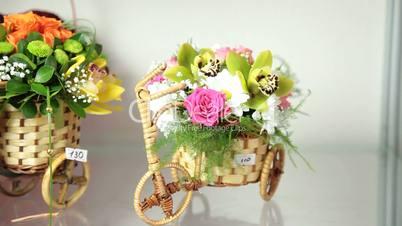 DOLLY: Valentines Day Flower Arrangements In Florist Shop