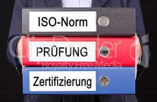 ISO-Norm Prüfung Zertifizierung