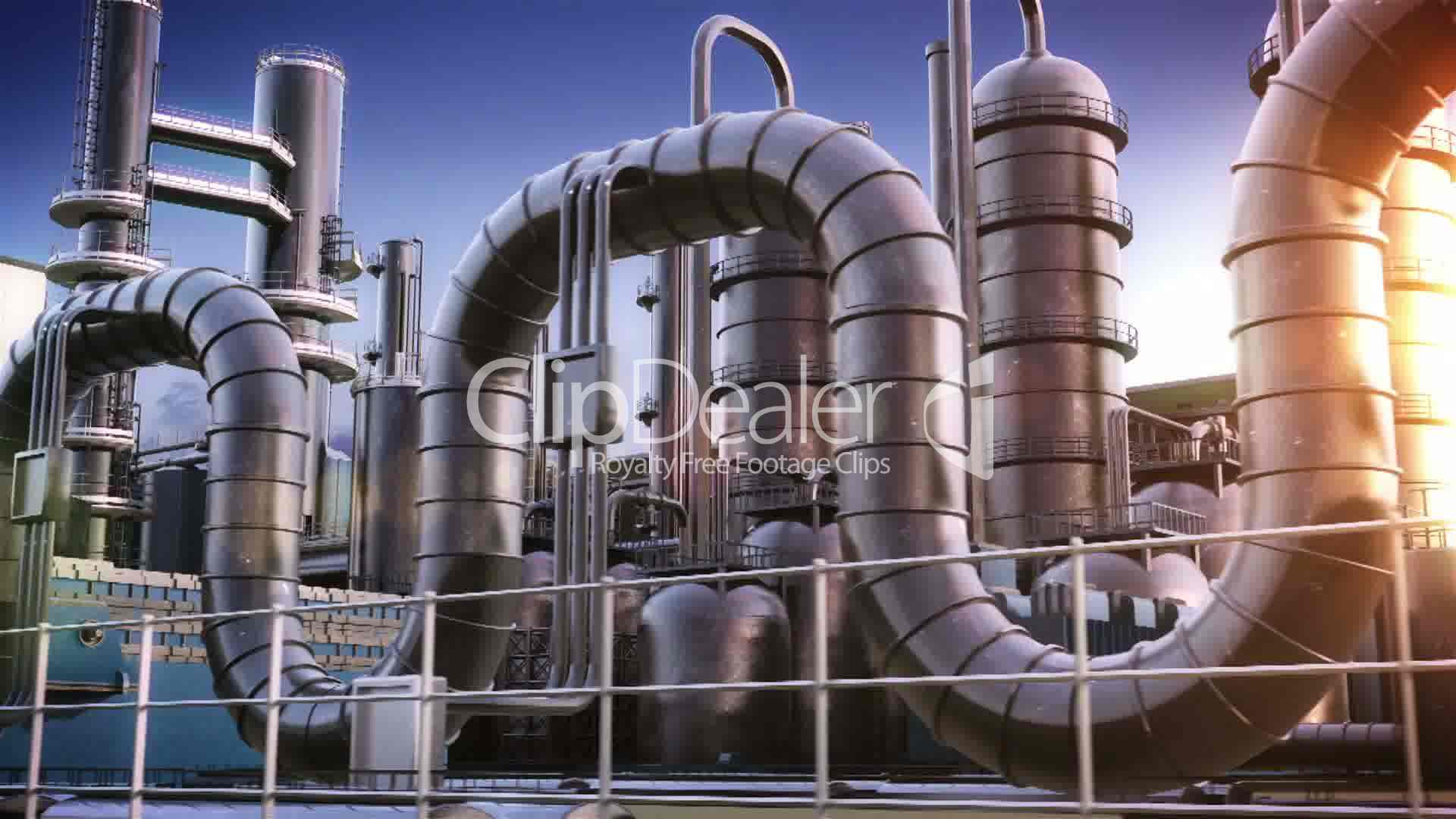 Water In Gas Tank >> Chemical Plant: Royalty-free video and stock footage