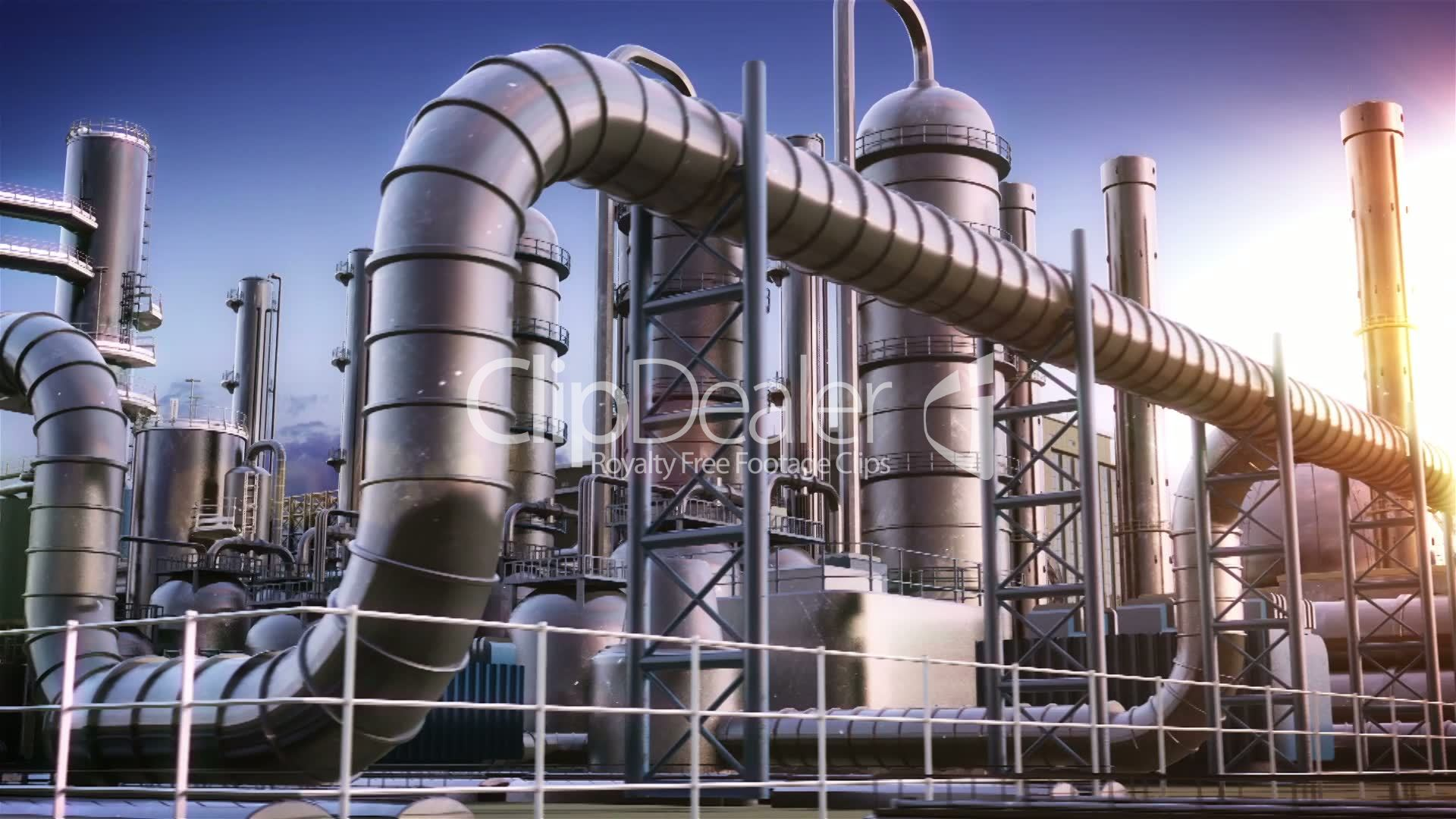 Chemical Plant Royalty Free Video And Stock Footage