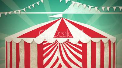 Circus Tent Entrance HD