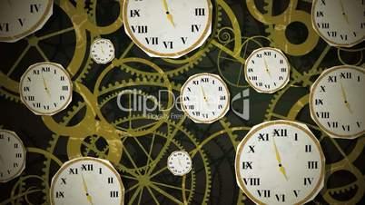 Clocks On Clockwork Loop HD