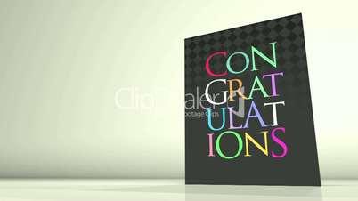 Greetings Card Congratulations HD