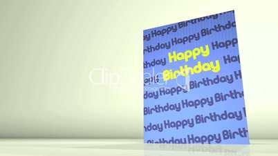 Greetings Card Happy Birthday HD