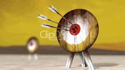Medieval Arrow Target HD