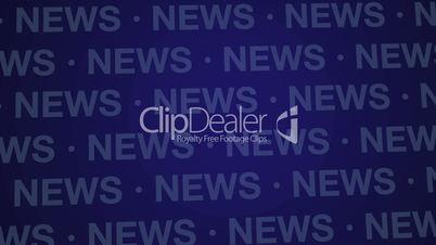 News Background Blue Loop HD