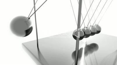 Newtons Cradle HD Loop