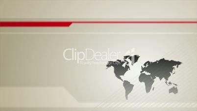 World Map Vector Back