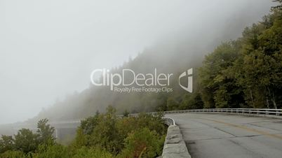 Blue Ridge Parkway Time lapse