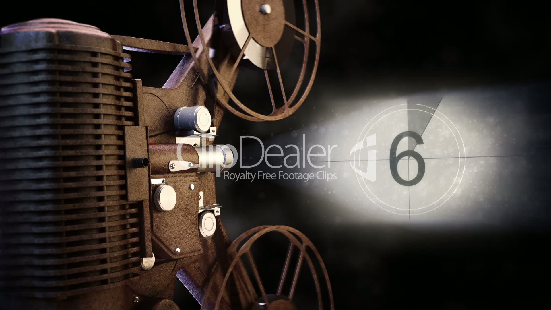 vintage film projector: Royalty-free video and stock footage