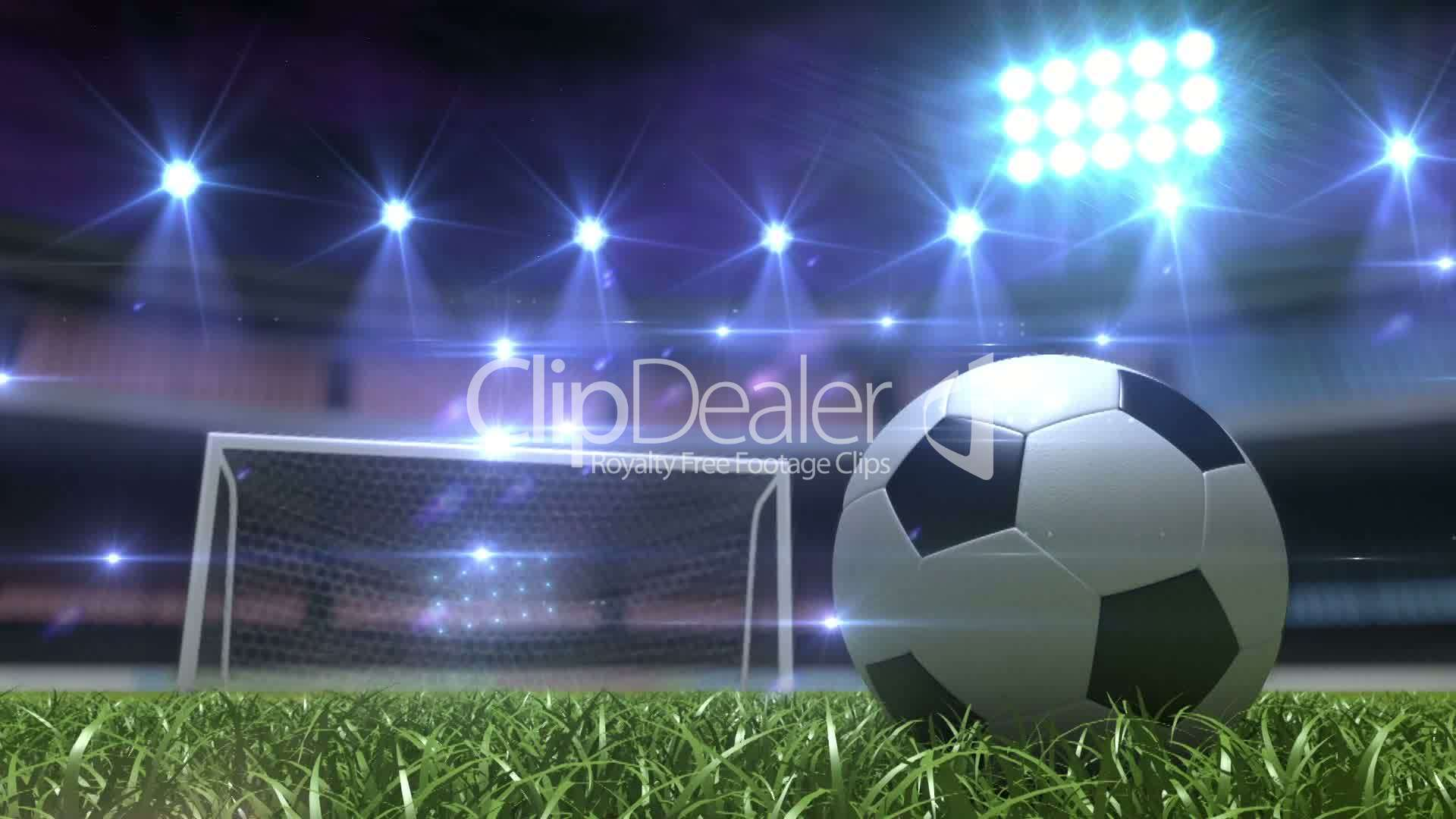 Football background: Royalty-free video and stock footage