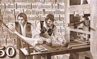 16th Century Printers at Work