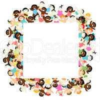 Decorative kids frame