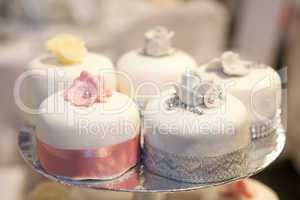 Wedding cakes (shallow  dof)