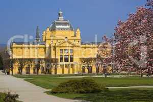 Art Pavilion in Zagreb, Croatia