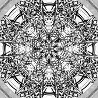 Star shape tile design