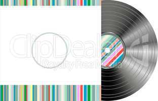 retro-styled vinyl with modern cover
