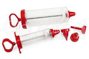 Confectionery syringes