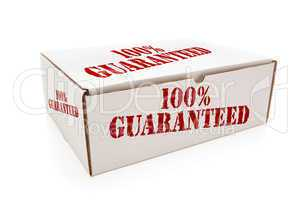 White Box with 100% Guaranteed on Sides Isolated
