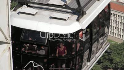 Cable car (bondinho) to Sugarloaf in Rio de Janeiro