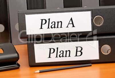 Plan A und Plan B