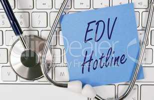 EDV Hotline