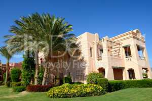 Building and recreation area of the luxury hotel, Sharm el Sheik