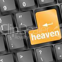 Heaven button on the keyboard