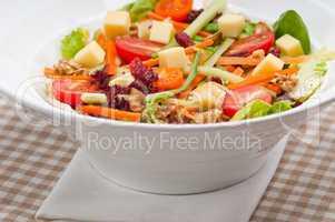 Fresh colorful healthy salad