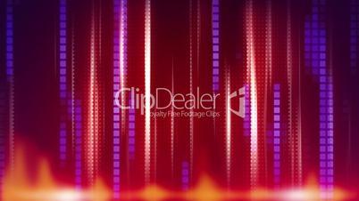red blue stripes modern loop background