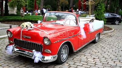 Classic Car, 1955 Chevrolet Bel Air Convertible