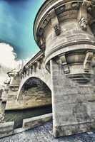 pont neuf, the oldest standing bridge across the river seine in