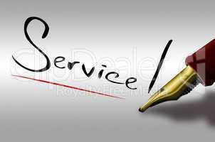 Service, Füller