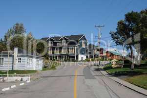 Quebec, the picturesque village of Tadoussac