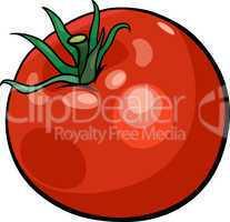 tomato vegetable cartoon illustration