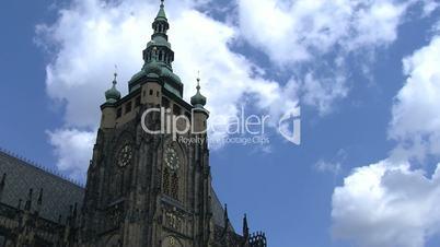 Prague Castle time lapse,Prague,Czech Republic