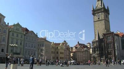 Old Town Square in Prague,Prague,Czech Republic
