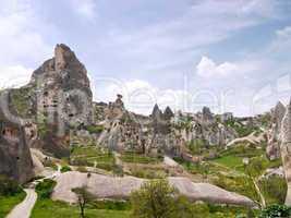 Tuff landscape, Turkey