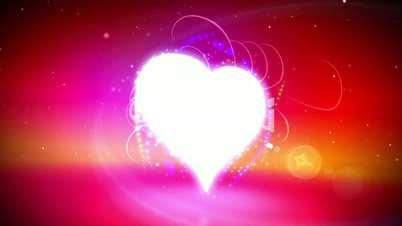Love heart loop