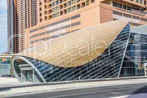 Dubai Marina Metro Station, United Arab Emirates