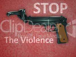 No gun violence symbol