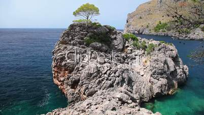 Seashore of Mallorca Island, Balearic Islands, Spain