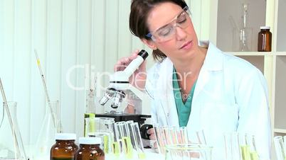 Medical Research Assistant Using Microscope