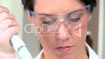 Female Medical Student in Close up