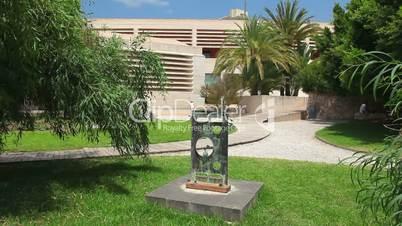 Building of Joan Miro Museum, Palma de Mallorca, Mallorca Island, Spain