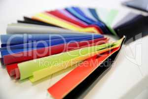 Farbfächer Textil