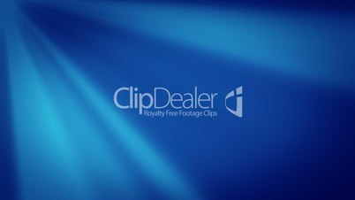 Abstract blue background, seamless loop animation