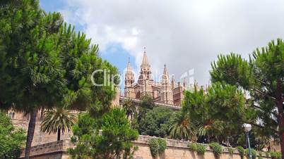 Cathedral in Palma de Mallorca, Mallorca Island, Spain